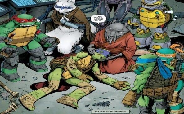 Teenage Mutant Ninja Turtles Killed Off Donatello ...
