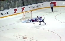 We've Seen The Worst Shootout Attempt Ever, Now Here's The Worst Save Attempt