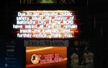 Fans Were Asked Not To Leave Camden Yards Last Night Because Of The Riots Going On