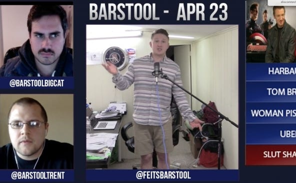 Barstool Rundown April 23