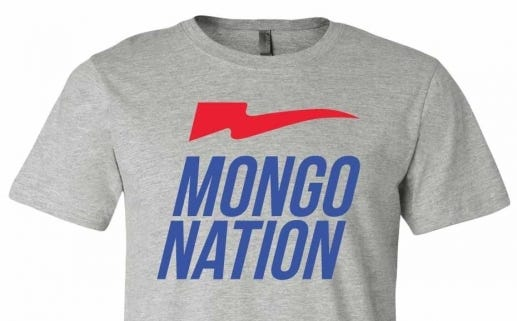 Francesa Says He Likes Our New Mongo Nation Shirts, Says Thats What Hes Going To Name His Next Horse