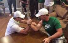 Rory Got Dominated In An Arm Wrestling Match Against A 17-Year-Old Kid
