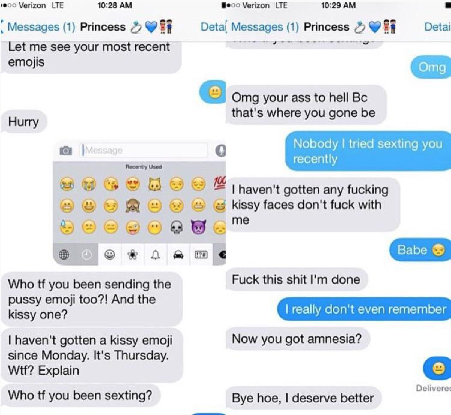 Guy caught cheating thanks to his most used emoji list is the screen shot 2015 04 06 at 83830 am buycottarizona Gallery