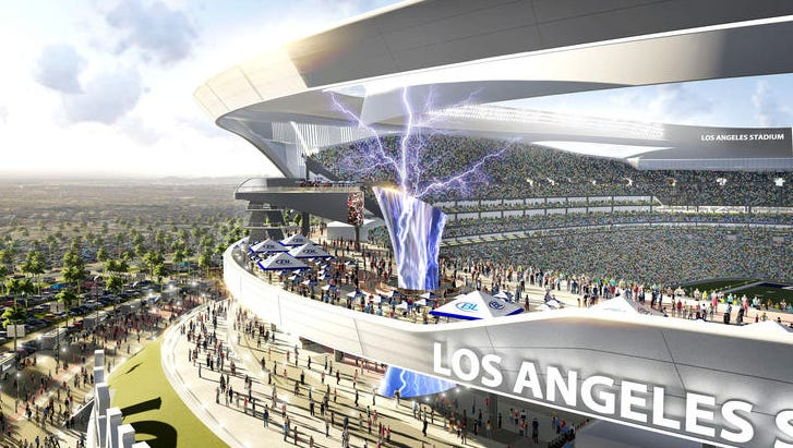 A New Stadium Proposal For The Chargers Includes A