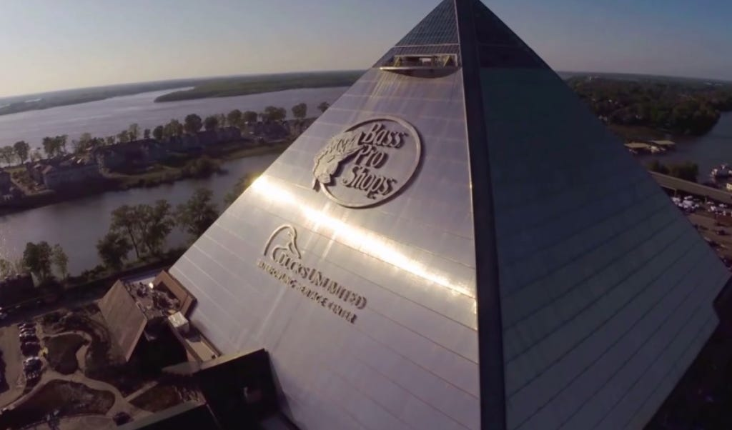 The Pyramid Of Bass Pro Is The Most American Thing Ever Barstool