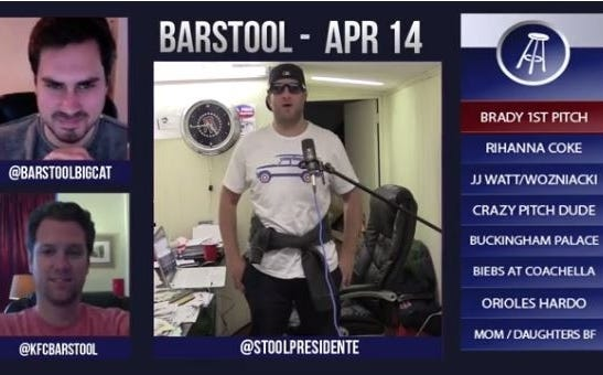 Barstool Rundown April 14
