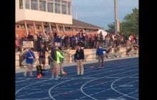 Grand Valley State Track Meet Delayed After Girl Poops On Track