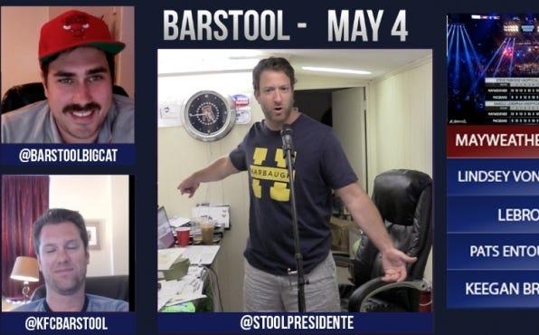 Barstool Rundown May 4