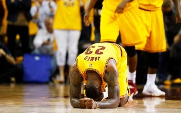 Last Night's Lebron James Theatrics Sums Up Why Everybody Should Hate Bron Bron