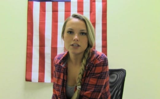 Barstool Confessional With Intern Dana