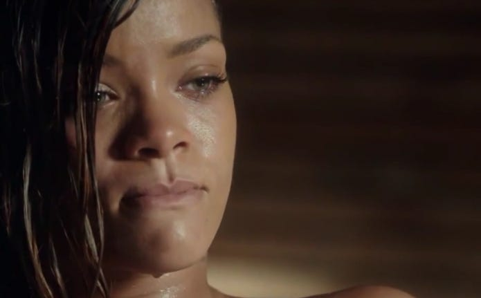 Rihanna Farting In A Bath Tub Taking You Into The Weekend