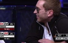 Losing Aces vs Aces in a $1,000,000 Poker Tournament Taking You Into The Weekend