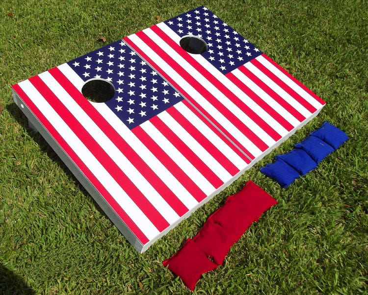 cornhole-american-flag