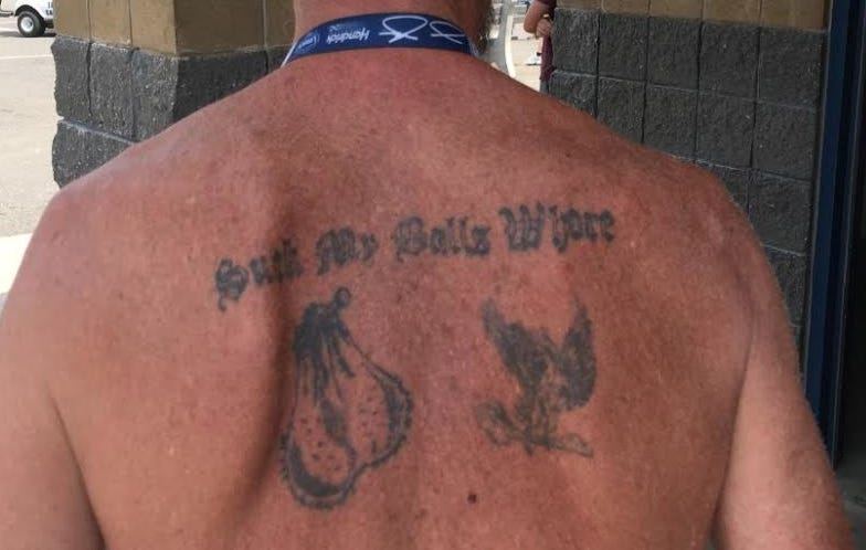 Rate this tattoo from the nascar race in new hampshire for New hampshire tattoo