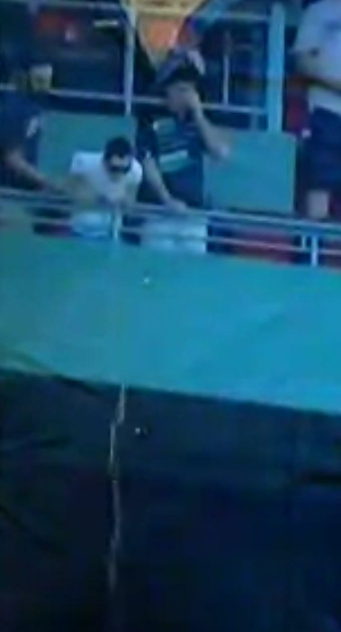 Casual Over The Railing Puke During The National Anthem At Fenway ...