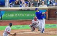 Wilmer Flores With The Walk Off Home Run In The Bottom Of The 12th
