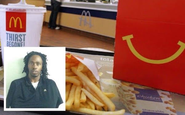 Dude Fired From McDonalds For Putting His Mixtape In Happy Meals – Daily Mail