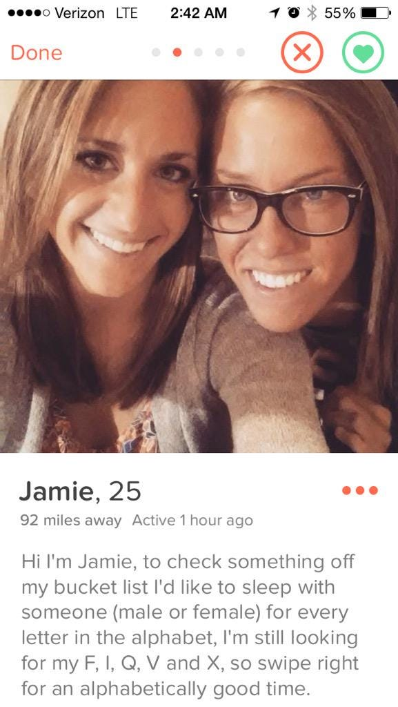 Scary Female Hookup Profiles Not A Murderer