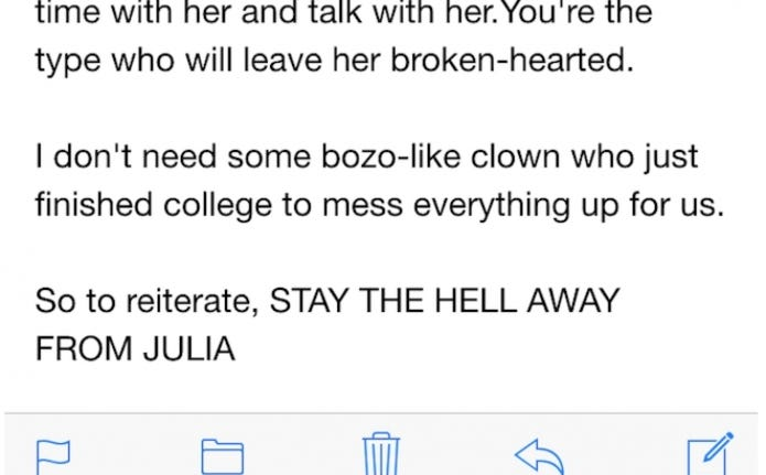 barstoolu nice email some sent coworker flirting with girl likes creepiest most pathetic thing ever