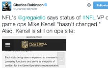 The NFL Has Very Quickly Corrected The False Report That Mike Kensil Was Fired
