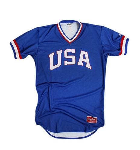 Old school team usa baseball shirts are the must have item for labor udadad3 usass mred malvernweather Choice Image
