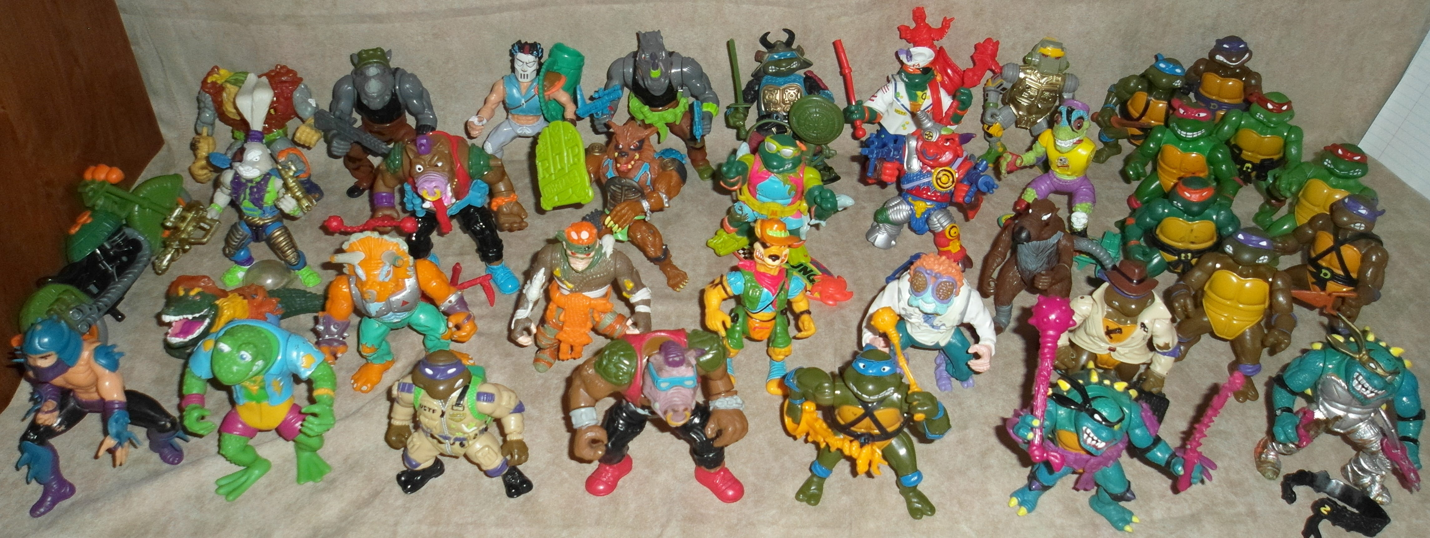 Claasic vintage toys vintage toys second shout out http www - Tmnt Action Figures Are Probably 2nd In The Action Figure World Behind Gi Joes The Case Can Be Made For Ghostbusters As Well When You Factor In Just How