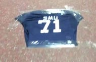 Houston Tapes SMU Jerseys To The Locker Room Floor So They Can Literally Walk All Over Them This Week
