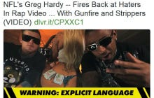 """I'm Sick Of People """"Suddenly Outraged By Greg Hardy"""