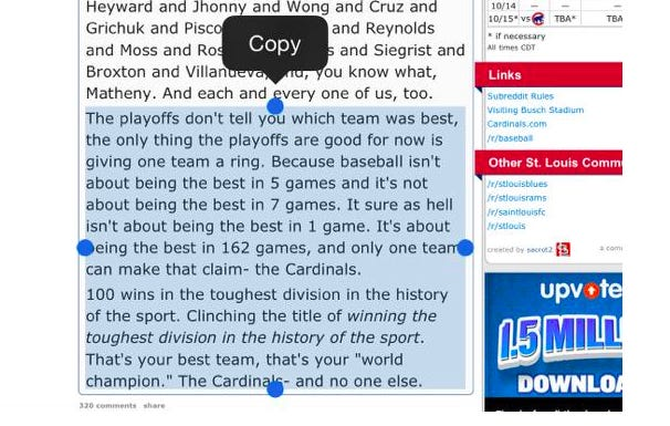 I Have Bad News Guys, Turns Out The Cubs NLDS Win Is Not As Impressive As The Cardinals \