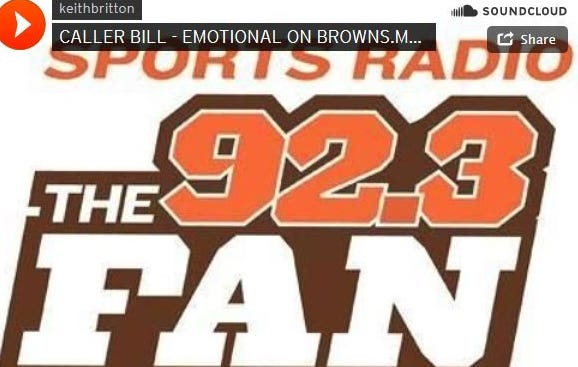Browns Fans Calls Into Cleveland Sports Talk Radio And Starts Crying Over Johnny Football
