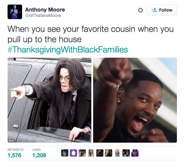 Screen Shot 2015 11 24 at 12.43.38 PM?3ea0c5 thanksgivingwithwhitefamilies page 4 niketalk,When You See Your Favorite Cousin Meme