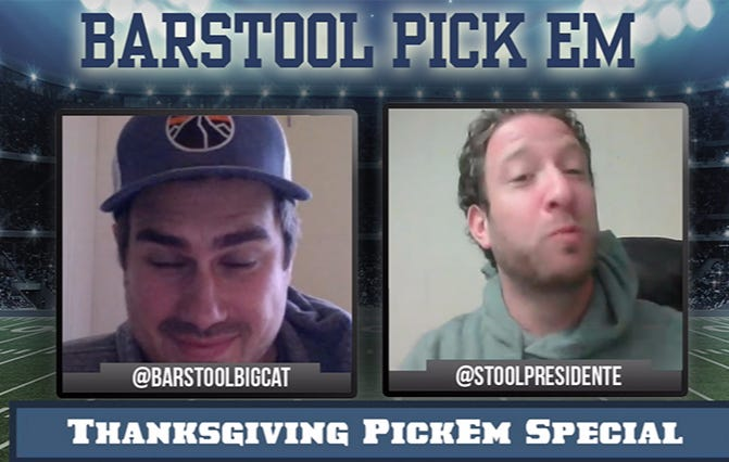 College And NFL Pick Em Podcast – Thanksgiving Special