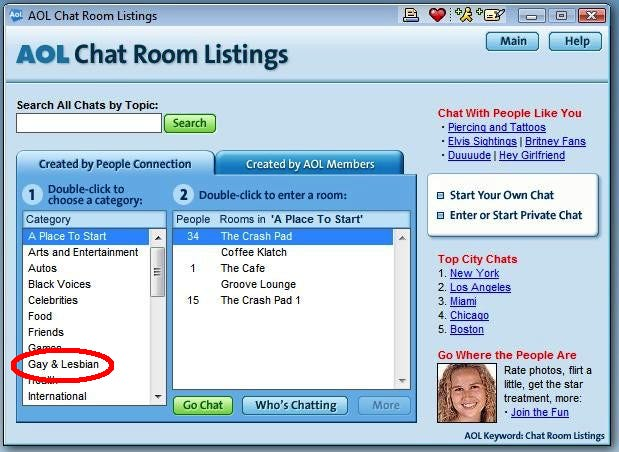 Chat Room For Gay