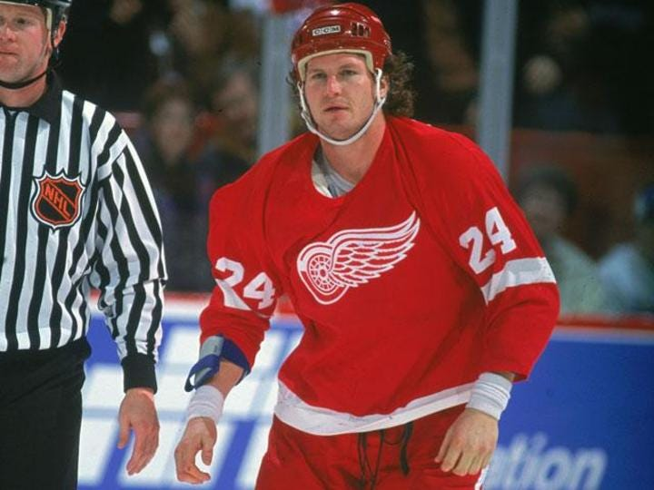 a legend in the world of nhl hockey - bob probert essay Robert alan probert (june 5, 1965 – july 5, 2010) was a canadian professional  ice hockey  1993 when the mighty ducks of anaheim made their first visit ever  to detroit  biographical information and career statistics from nhlcom, or  eliteprospectscom, or legends of hockey, or the internet hockey database.