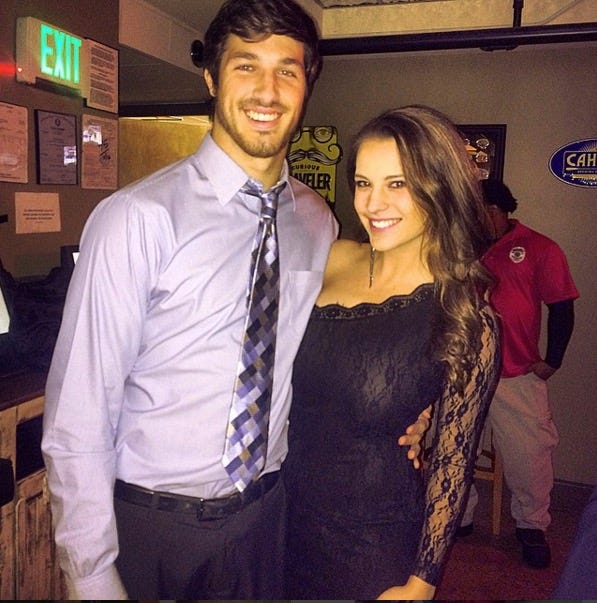 miss alabama dating quarterback Mccarron appears to be dating a young woman named katherine webb, who was miss alabama 2012 the two have been exchanging playful tweets for the past month, and webb shared the above picture of the two together on christmas eve.