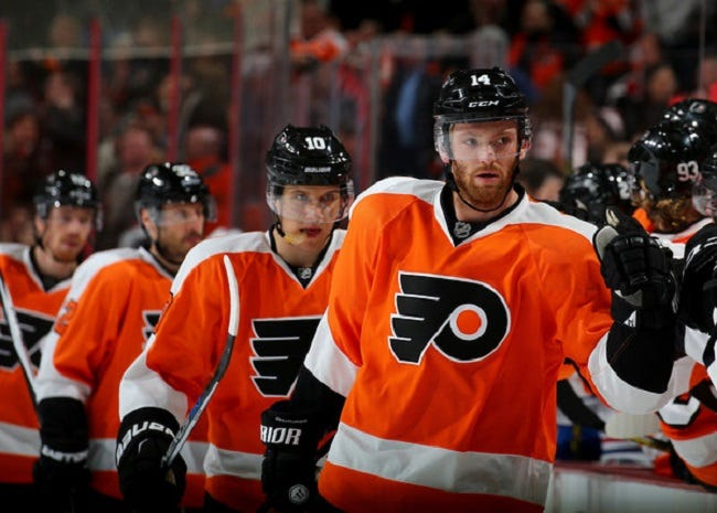 ron hextall and the philadelphia flyers made a huge splash yesterday by dealing luke schenn and vincent lecavalier at half price to the los angeles kings