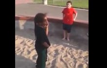 A Guy Telling His Brother To Start A Fight With Another Little Kid Only To Get His Ass Kicked Is The Worst Sibling Ever