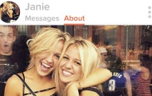 These Twin Girls On Tinder Must Have The Most Competitive Inbox Of All Time