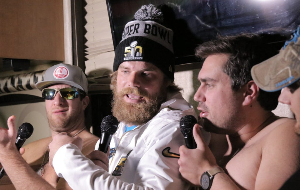 Barstool RV Super Bowl Casting Couch Featuring Greg Olsen