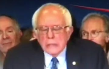 Some Guy At The Bernie Sanders Rally Had The Hardest Faint You'll Ever Hear In Your Life