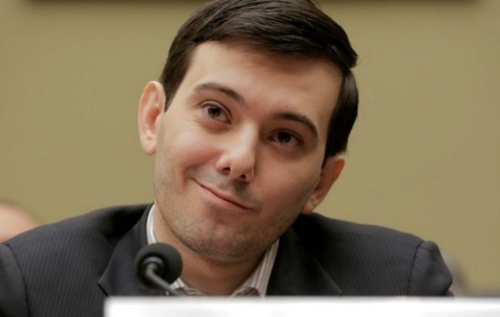 "Martin Shkreli Plead The Fifth At A Congressional Hearing, Rolled His Eyes At Them, Then Called Them ""Imbeciles"""