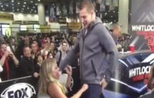 Gronk Handing Out Some Very Intense, Titty Bang Lap Dances During Super Bowl Week