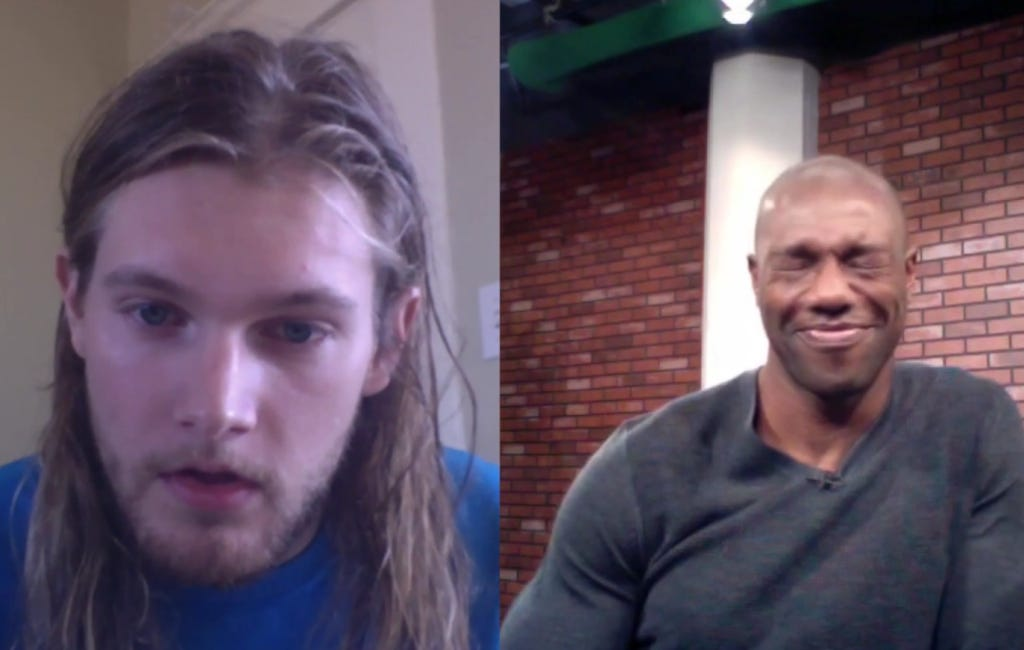 Caleb Goes 1 on 1 With Terrell Owens In Exclusive Interview