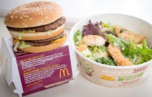 McDonald's Kale Salad Has More Carlories And Fat Than a Big Mac