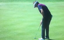 Ian Poulter Putting With One Hand And Missing Just Made My Day