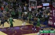 Avery Bradley Burries A Game Winning Three At The Buzzer To Beat The Cavs