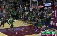 Avery Bradley Buries A Game Winning Three At The Buzzer To Beat The Cavs