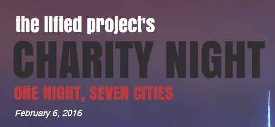 LAST CALL For This Sat's Charity Blowout For The LiftED Project In Philly, Boston, NYC, And Other Cities