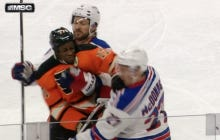 "New York Rangers Should Look In The Mirror If They Want To Get Upset Over Simmonds ""Sucker Punch"""