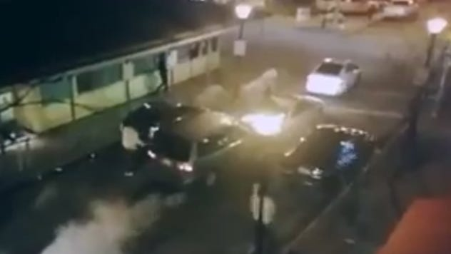 Baltimore Fight Leads To Driver Ramming Cars And Running People Over